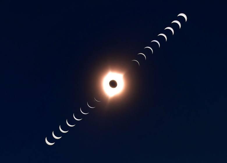 Całkowite zaćmienie słońca 21 sierpnia 2017 w USA [ZDJĘCIA] [WIDEO] Kiedy zaćmienie słońca w Polsce?