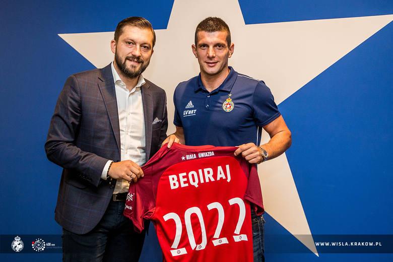 Fatos Beqiraj podpisał 24 lipca dwuletni kontrakt
