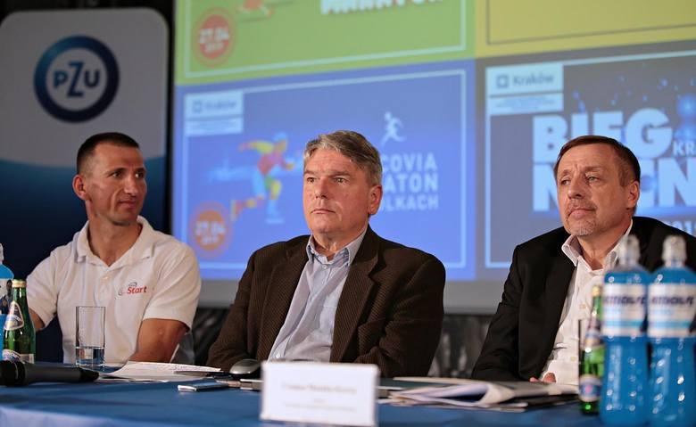 Konferencja prasowa przed 18. PZU Cracovia Maraton