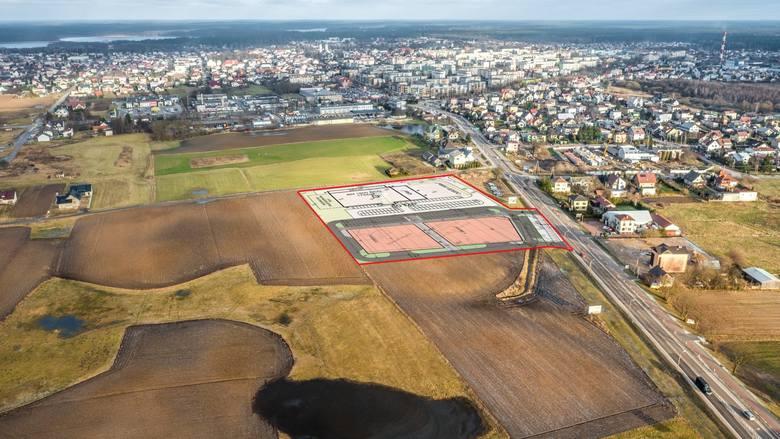 Łączna powierzchnia centrum wynosić ma 6500 m2. Realizacją inwestycji zajmuje się firma RedMill sp. z o.o. specjalizująca się w budowaniu galerii oraz