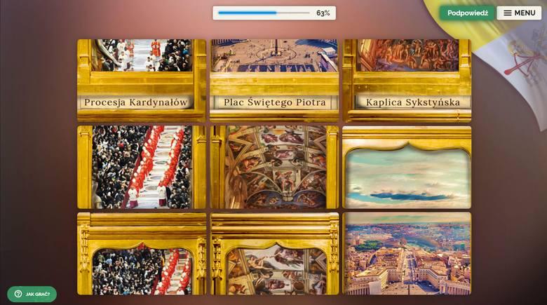 Gra stanowi ona bazę wiedzy na temat życia, działalności i dziedzictwa kulturowego Jana Pawła II.