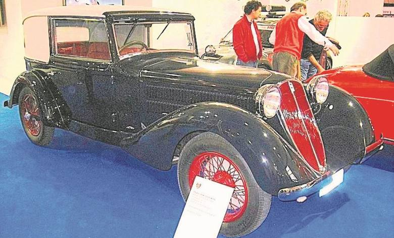 Itala 65 Coupé Royal z karoserią Ghia z roku 1932. Czy takich samochodów - niekoniecznie z podobnym nadwoziem - dotyczyły rozmowy ze stroną polską w roku 1931?