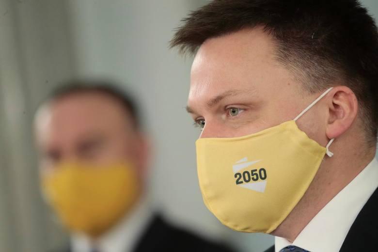 Lider ruchu Polska 2050 Szymon Hołownia: Nie jestem stuzłotówką, by się każdemu podobać