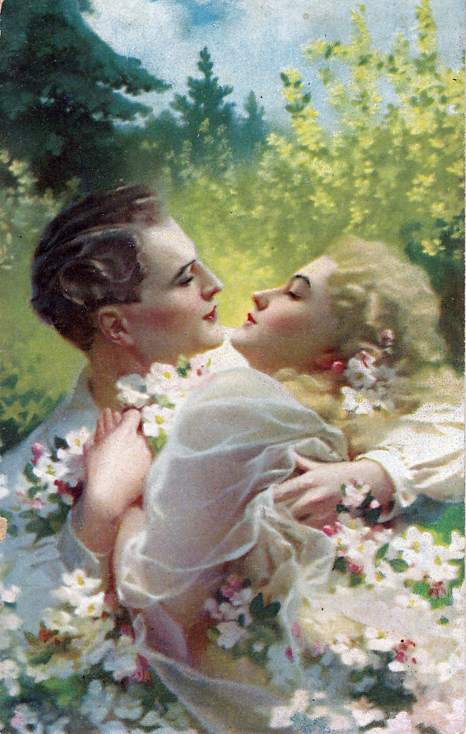 Walentynki tuż, tuż. Zobaczcie widokówki dla zakochanych nawet sprzed 100 lat