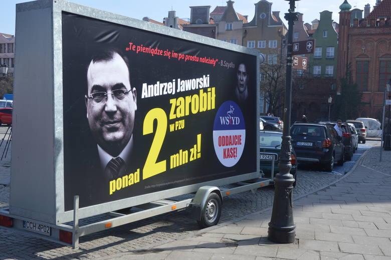"""""""Konwój wstydu"""" - nowa kampania Platformy Obywatelskiej ruszyła z Targu Węglowego"""