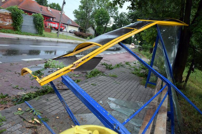 Przez Tarnobrzeg przeszła nawałnica: Wyrwane drzewa, zniszczone auta, rozlewiska  [ZDJĘCIA]