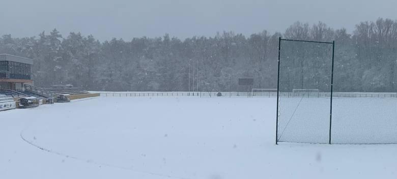 Tak wygląda obecnie stadion w Kraśniku.