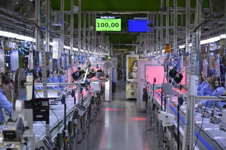 W TPV w Gorzowie pracuje 1,7 tys. osób. Fabryka produkuje telewizory marki Philips