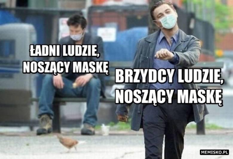 Od 16 kwietnia do 30 maja trzeba było zakrywać nos i usta w miejscach publicznych. Maseczki były więc stałym elementem polskich ulic. Nic dziwnego, że