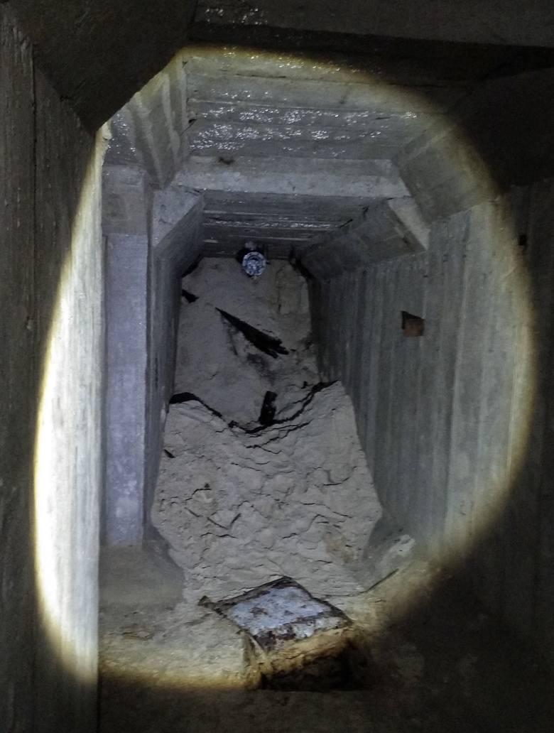 Nie jeden a dwa tunele odkryte na budowie stadionu Pogoni Szczecin [ZDJĘCIA]