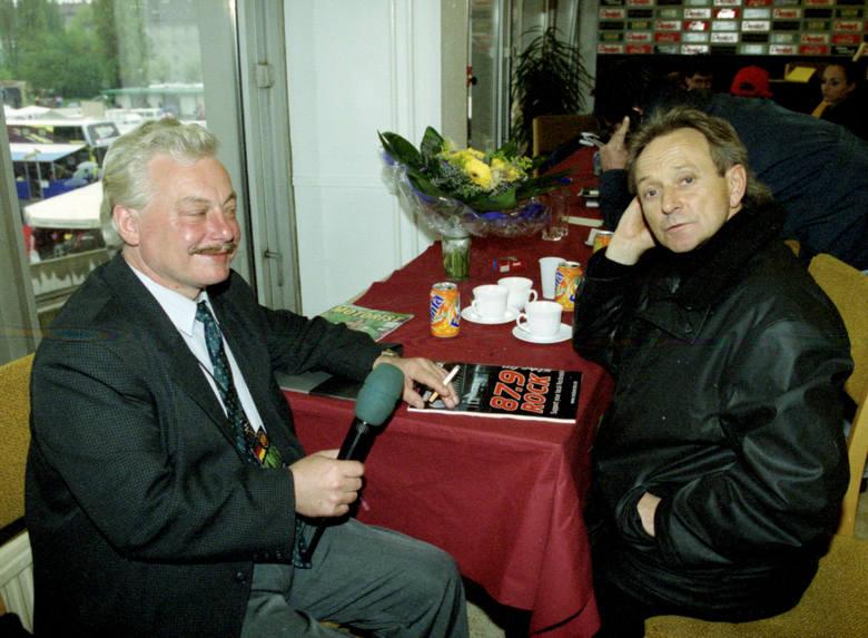 W rozmowie z mistrzem świata Egonem Mullerem.