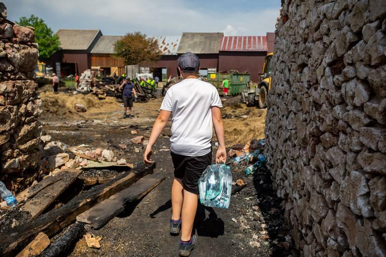 Pożar w Nowej Białej. Żywioł dosłownie w chwilę zniszczył życie stu mieszkańców