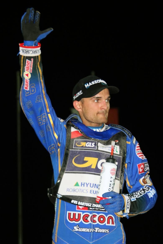Bartosz Zmarzlik, żużlowiec Truly.work Stali Gorzów wygrał Grand Prix Słowenii.