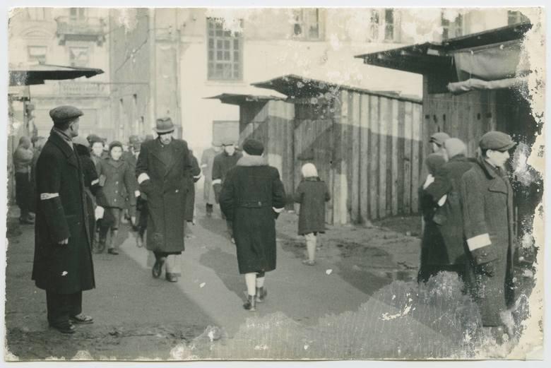 Bazar w dzielnicy żydowskiej