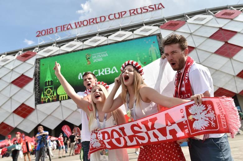 Kibice przed meczem Polska - Senegal