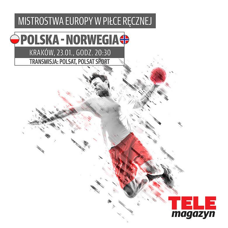 Mistrzostwa Europy mężczyzn w Polsce: Polska - NorwegiaW drugiej fazie grupowej Mistrzostw Europy 2016 Polska zagra z drużyną Norwegii. Biało-czerwoni