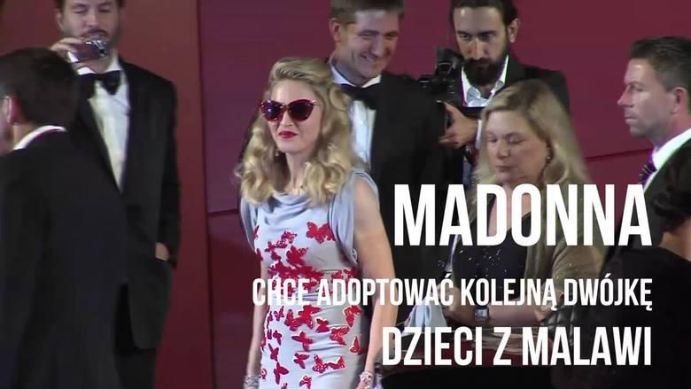Madonna chce adoptować kolejną dwójkę dzieci z Malawi