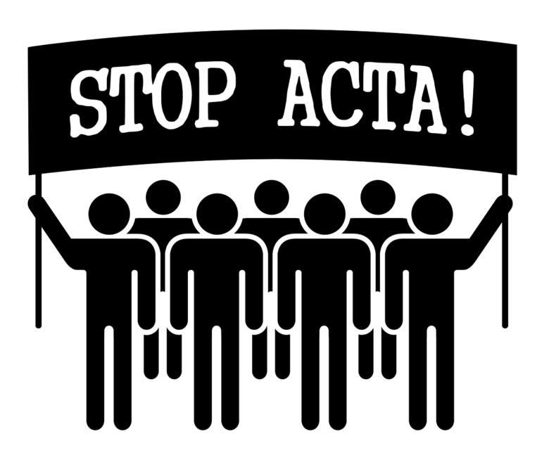 Nazywanie dyrektyw ACTA 2 – FAŁSZ. ACTA była umową handlową m. in . niekorzystną dla małych przedsiębiorstw, za to bardzo korzystną dla wielkich koncernów.