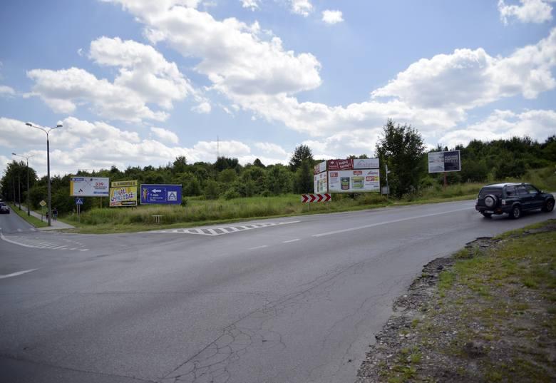 Galeria handlowa ma powstać niedaleko parku na Czarnej Górze. Obecnie to tereny zielone, także po drugiej stronie ulicy