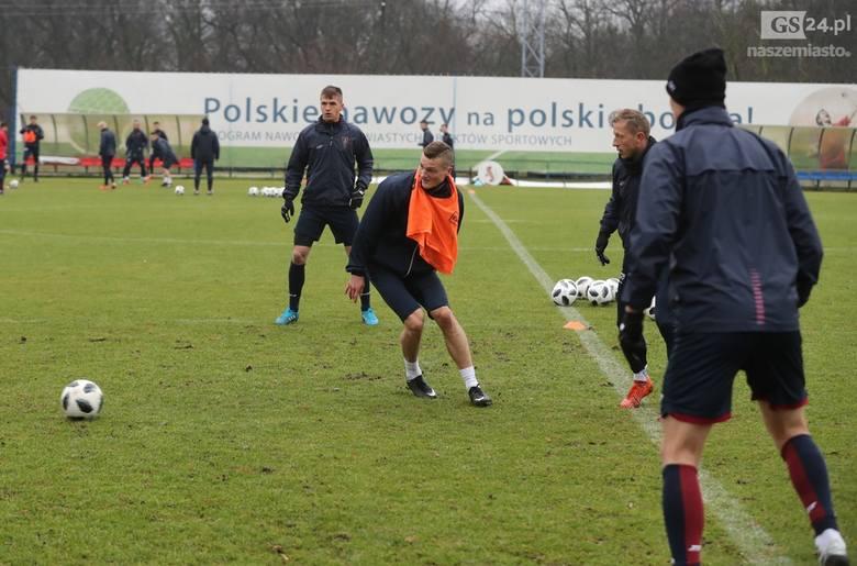 Pierwszy trening Rasmussena w Pogoni [MAGAZYN SPORTOWY GS24]