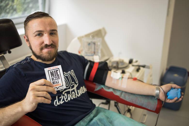 Krew górników, którzy przeszli koronawirusa, ratuje życie najciężej chorych. Osocze pobrano już od 31 ozdrowieńców