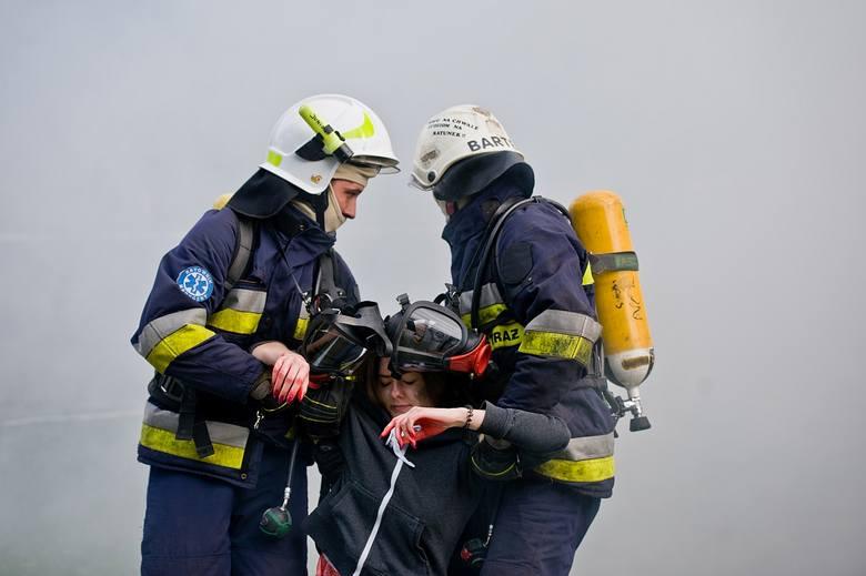 """Nad jez. Radodzierz w gm. Warlubie odbyły się ćwiczenia dowódczo-sztabowe """"Koordynacja 2018"""". Wszystkie służby ratunkowe z regionu"""