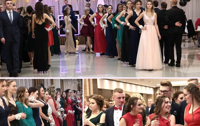 W hotelu Rudnik odbył się bal studniówkowy maturzystów z Zespołu Szkół Gastronomiczno - Hotelarskich z Grudziądza.