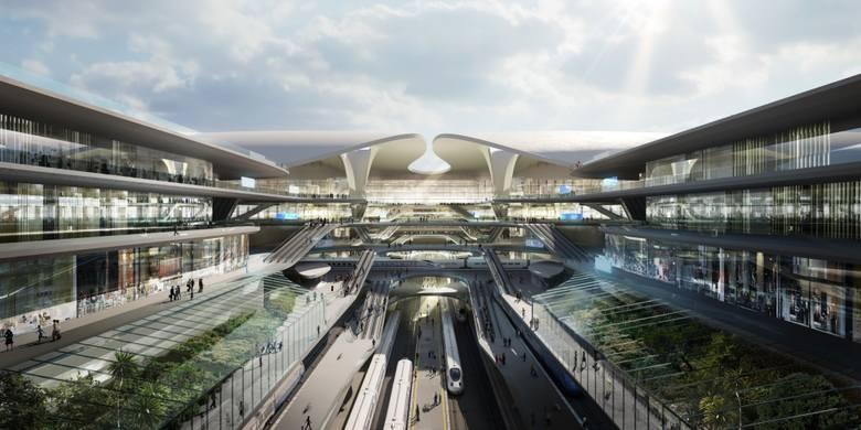 Koncepcja Zaha Hadid Architects