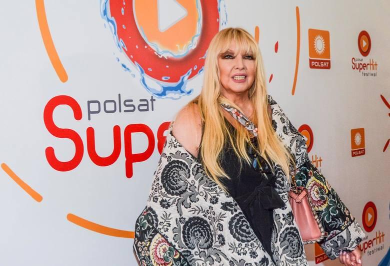 Piosenkarka Maryla Rodowicz znów gra w tenisa