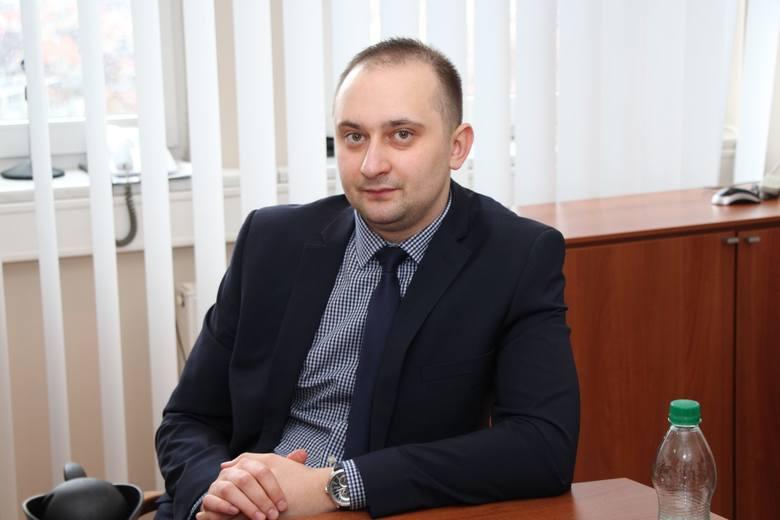 Grzegorz Maćkowiak, asystent posła Marka Asta.