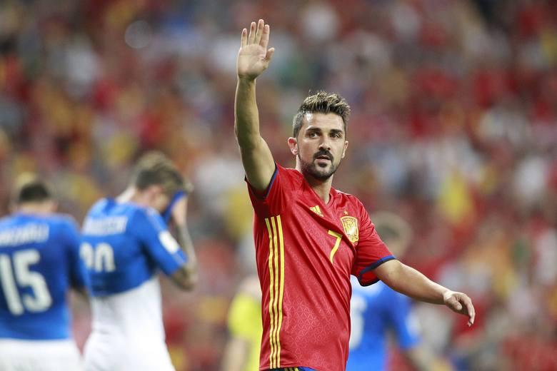 David Villa właśnie podjął decyzję o zakończeniu kariery. 37-letni Hiszpan był wybornym snajperem. Został mistrzem Europy 2008 i mistrzem świata 2010.