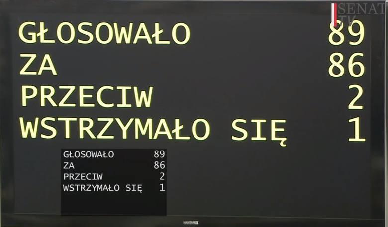 Ustawa Metropolitalna przyjęta przez Senat. Ryszard Świlski: