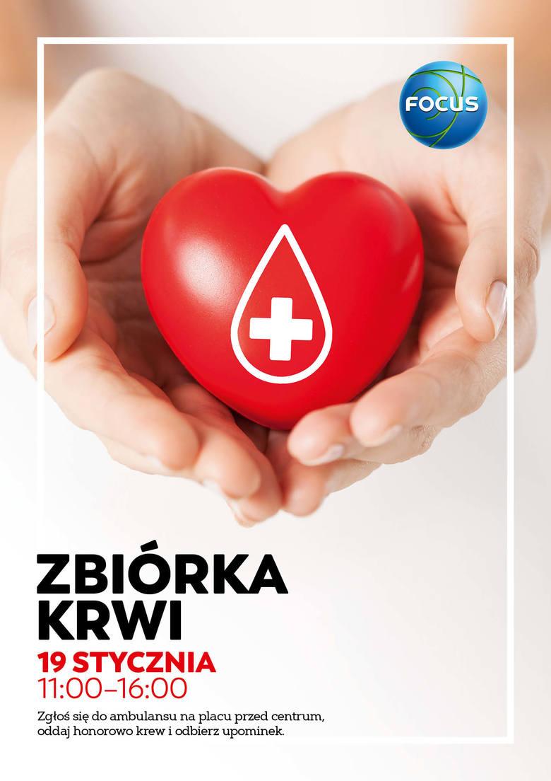 W sobotę zbiórka krwi przed CH Focus w Bydgoszczy