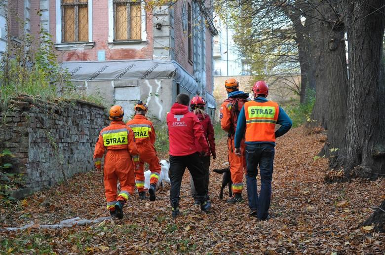 Szczecin: Zawalił się dach w dawnej przychodni przy Słowackiego [zdjęcia]