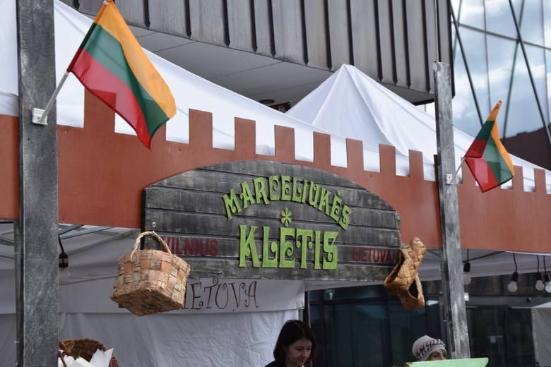 Festiwal Wilno w Gdańsku 2019. Stoisko Vytenisa Urby