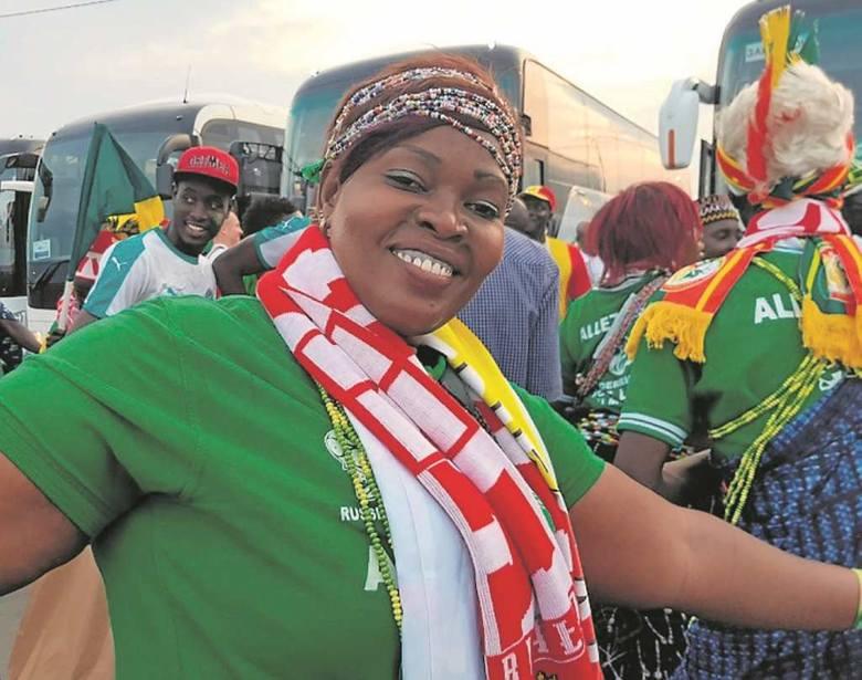 Kibice z Senegalu