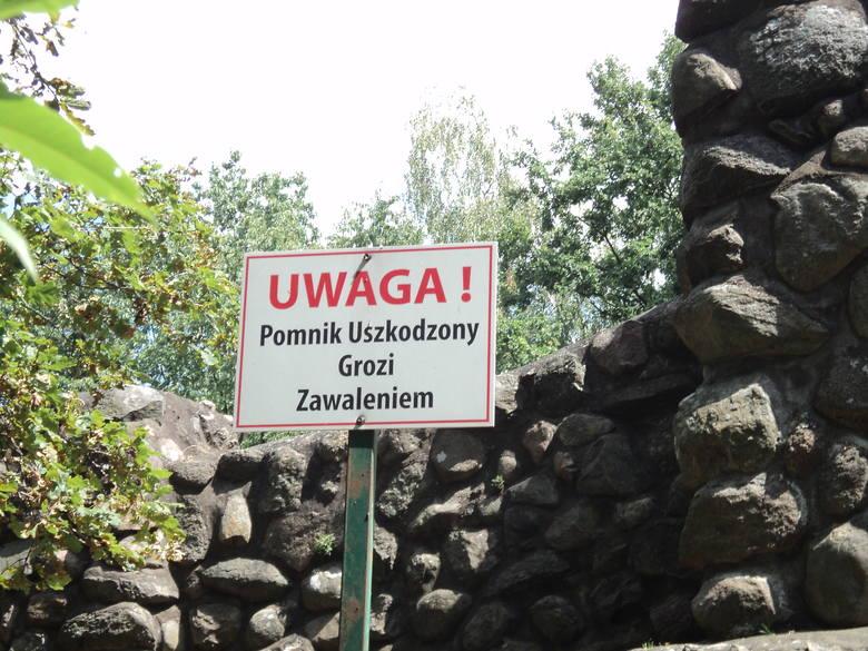 Kto zdewastował obelisk na cmentarzu w Gadce Starej?