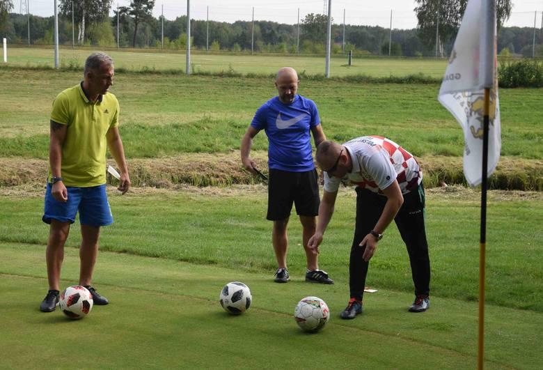 Poznaliśmy mistrza Polski w footgolfie. W Postołowie nie zabrakło byłych znanych piłkarzy [zdjęcia]