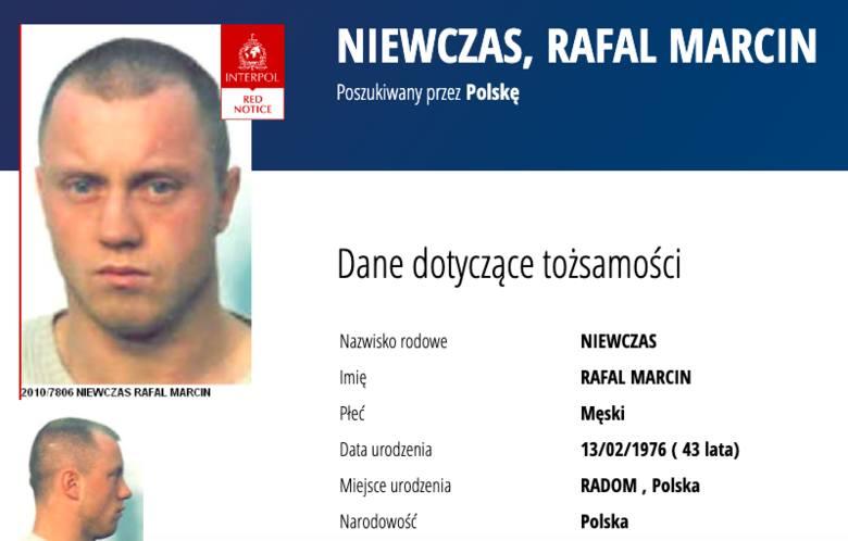 Poszukiwany za gwałt, rozbój, fałszerstwo, udział w grupie przestępczej, rozbój, nielegalne posiadanie broni palnej.