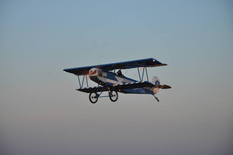 Jeden z Fokkerów Wielkopolskiej Eskadry Niepodległości