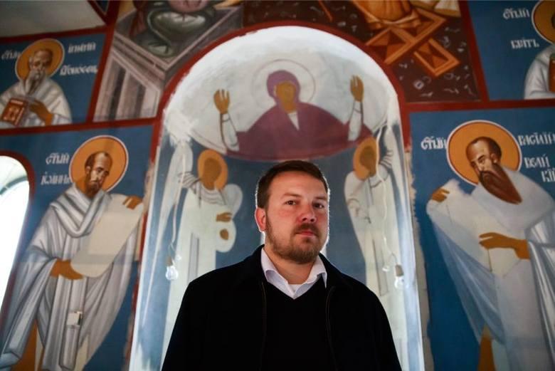 Parafia św. Jana Teologa. Serbowie tworzą niezwykłe freski (zdjęcia)