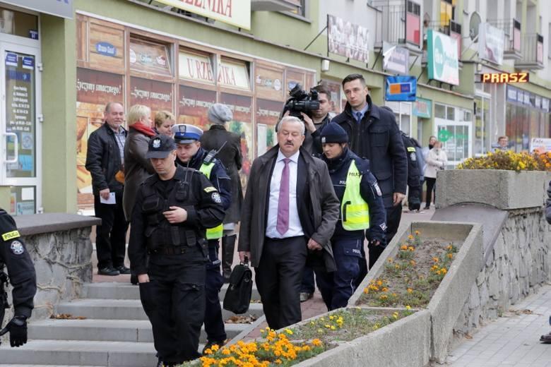 Walenty Korycki - wicemarszałek województwa podlaskiego przyszedł pijany do urzędu