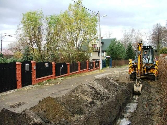Budowa kanalizacji w gminie Wieliczka
