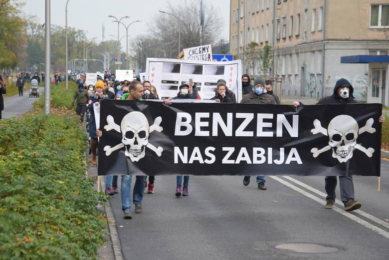 Protest w Kędzierzynie-Koźlu