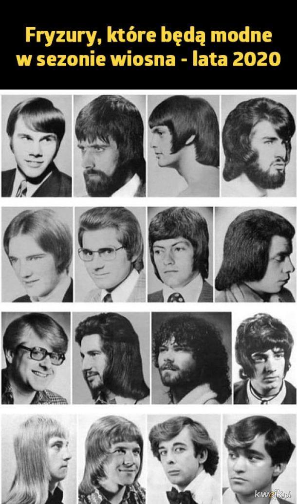 najlepsze memy z branży fryzjerskiej modne fryzury wiosna lato 2020