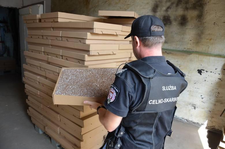 Kujawsko-pomorska skarbówka i CBŚ zlikwidowali nielegalną fabrykę papierosów
