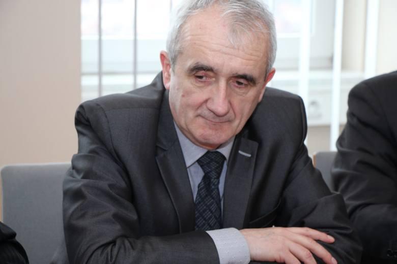 Tadeusz Dzwonkowski, dyrektor Archiwum Państwowego w Zielonej Górze.