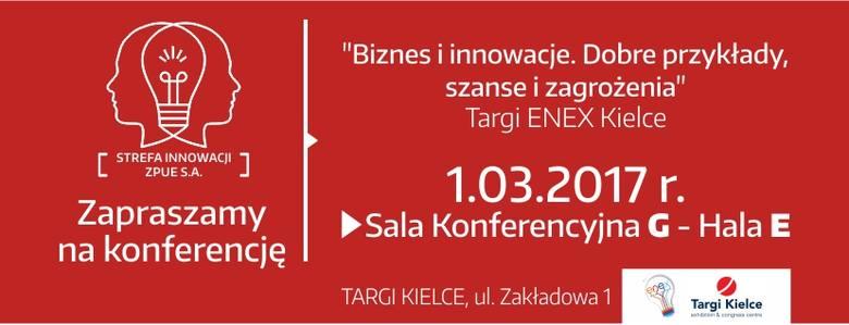 Nowatorskie projekty w Strefie Innowacji ZPUE w Targach Kielce