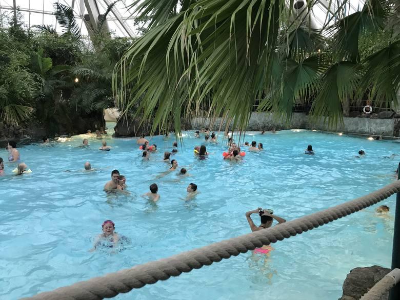 Aqua Mundo: Tropikalne miejsce w zasięgu ręki, lato przez cały rok, gorąca woda, inne atrakcje dla całej rodziny [WIDEO, ZDJĘCIA, DOJAZD]