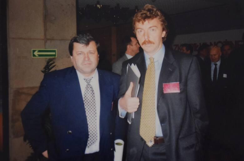 Adam Sokołowski i Zbigniew Boniek